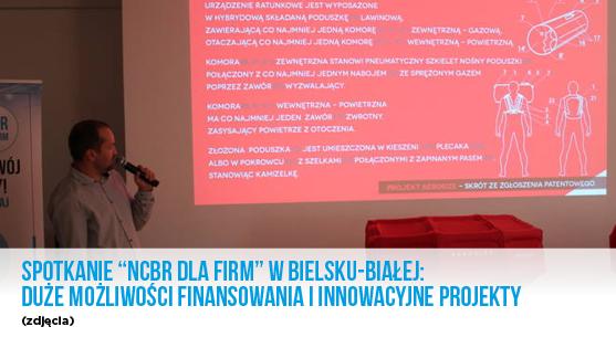 """Spotkanie """"NCBR dla firm"""" w Bielsku- Białej: duże możliwości finansowania i innowacyjne projekty- zdjęcia."""