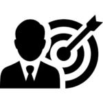 Ikona przedstawiająca cel
