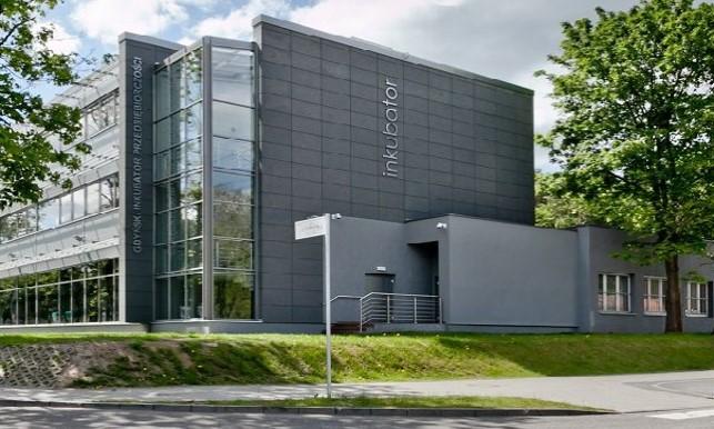 Gdyński Inkubator Przedsiębiorczości przy ul. Olimpijskiej 2 w Gdyni