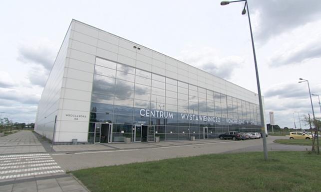 Centrum Wystawienniczo-Kongresowe przy ul. Wrocławskiej 158 w Opolu