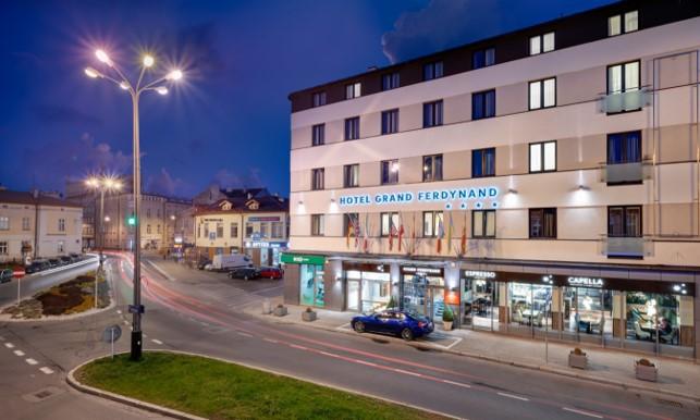 Best Western Hotel Ferdynand przy ul. Grottgera 28 w Rzeszowie