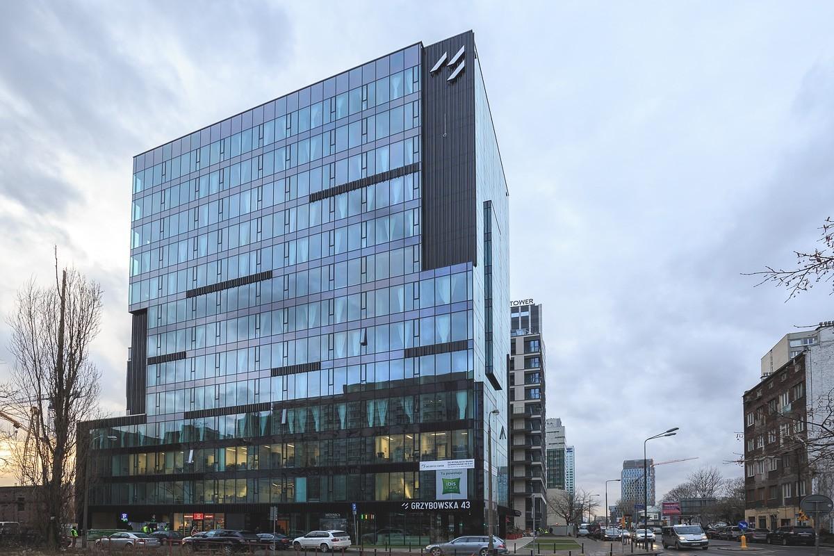 Hotel Ibis Styles przy ul. Grzybowskiej 43 w Warszawie
