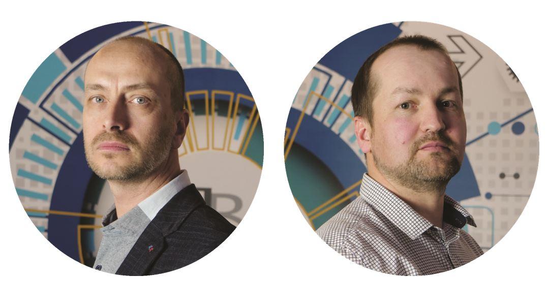 Wojciech Wieczorek - kierownik badań w projekcie oraz Maciej Roth  - analityk w projekcie
